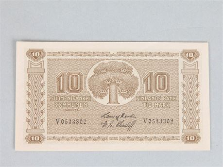10 Mark Banknote 1945